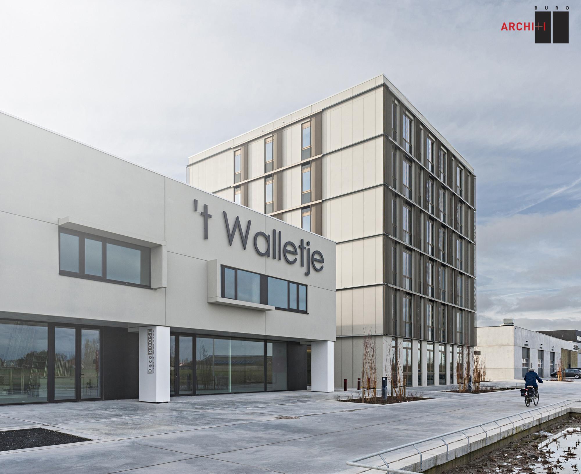 Gallery of business complex building t walletje knokke heist