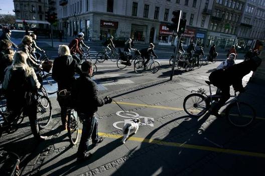 Dispara o número de trajetos de bicicleta em Copenhague em 2013