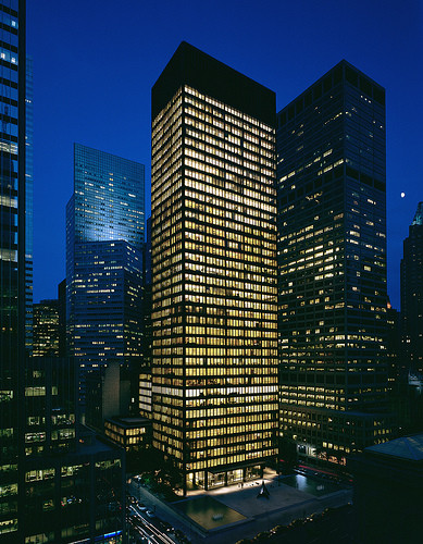 Light Matters: Richard Kelly, The Unsung Master Behind Modern Architecture's Greatest Buildings, Seagram Building, New York.