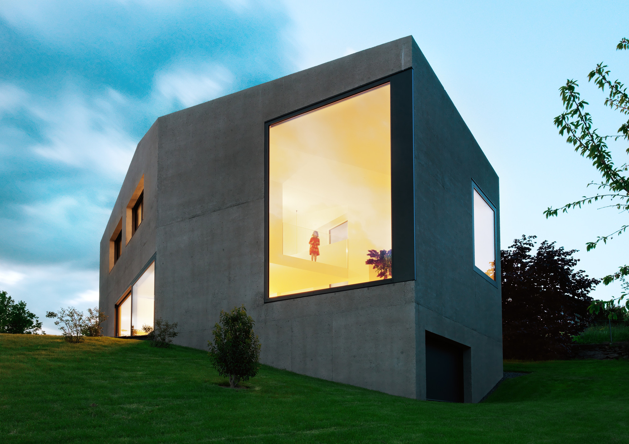 Swiss Society of Engineers and Architects Open Days 2014, Villa Dind / Link Architectes / Photo by Lionel Henriod