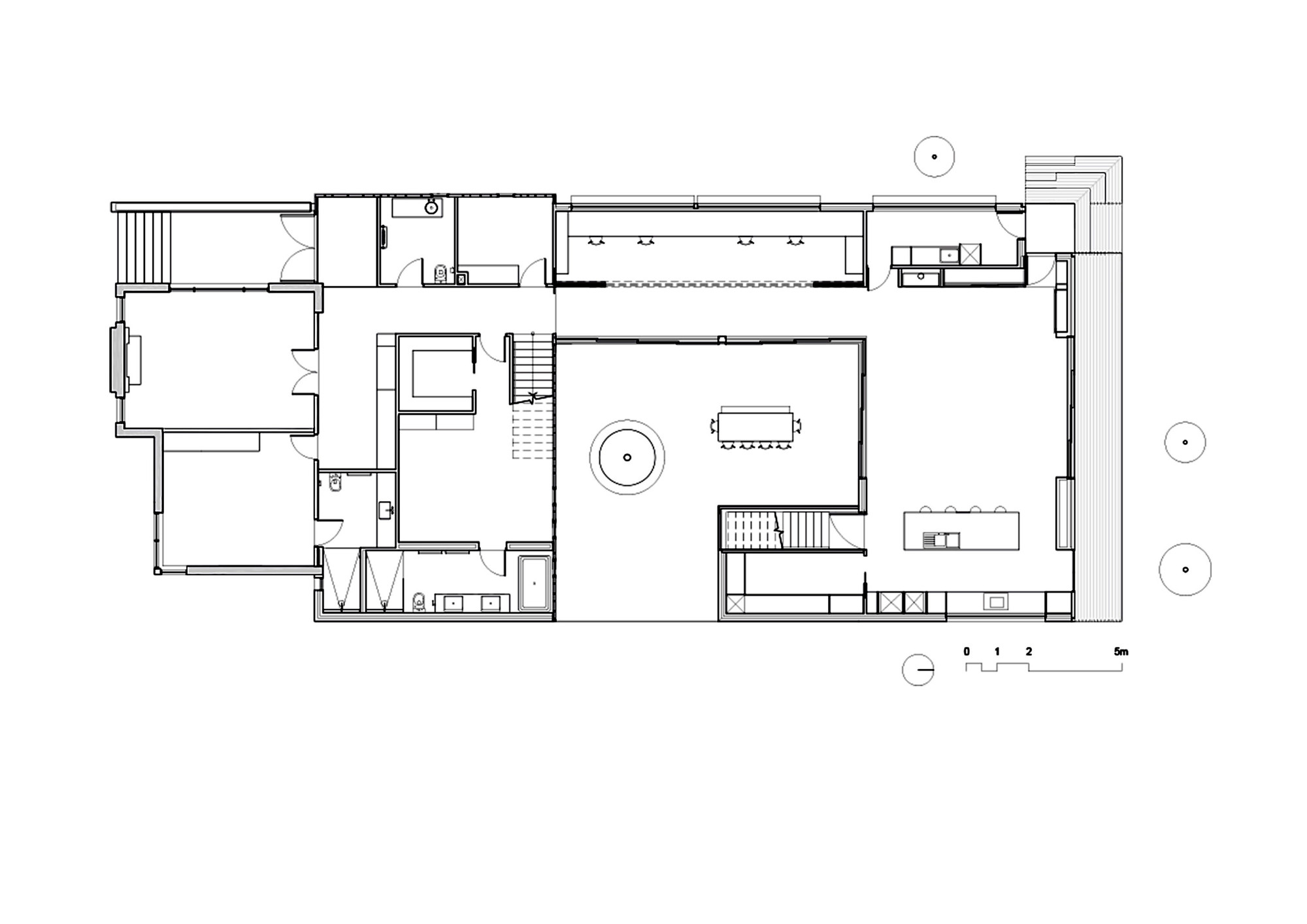 Gallery Of Three Parts House Architects Eat 95