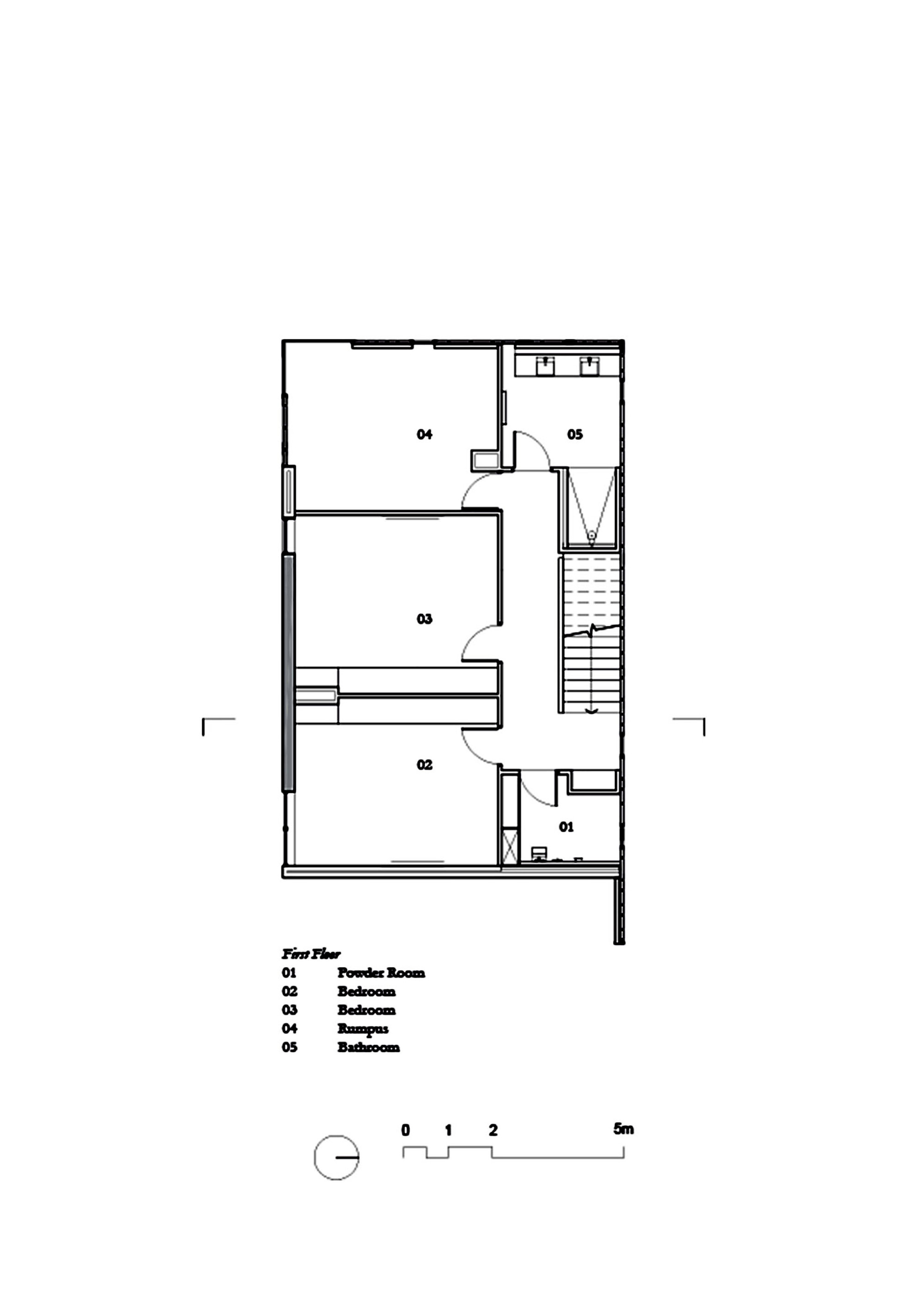 Gallery Of Three Parts House Architects Eat 96