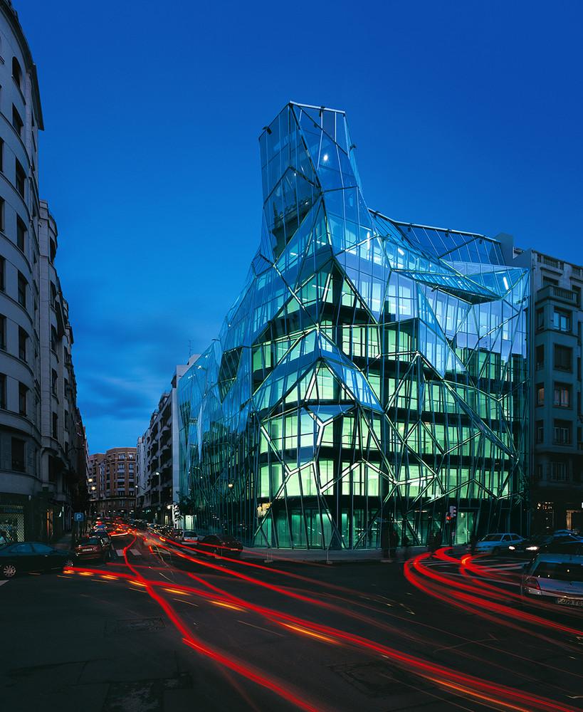 Telhado de Vidro - Sede do Departamento de Saúde Basco, País Basco