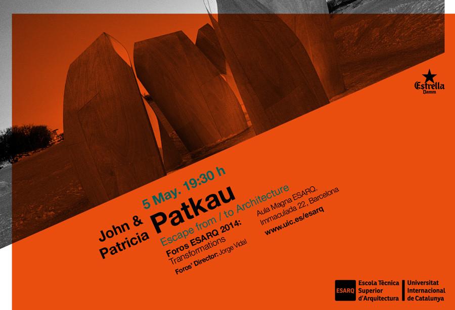 Foro ESARQ-UIC: John & Patricia Patkau