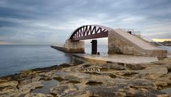 Nueva pasarela en el Dique de St. Elmo en el Gran Puerto de La Valeta / Arenas & Asociados