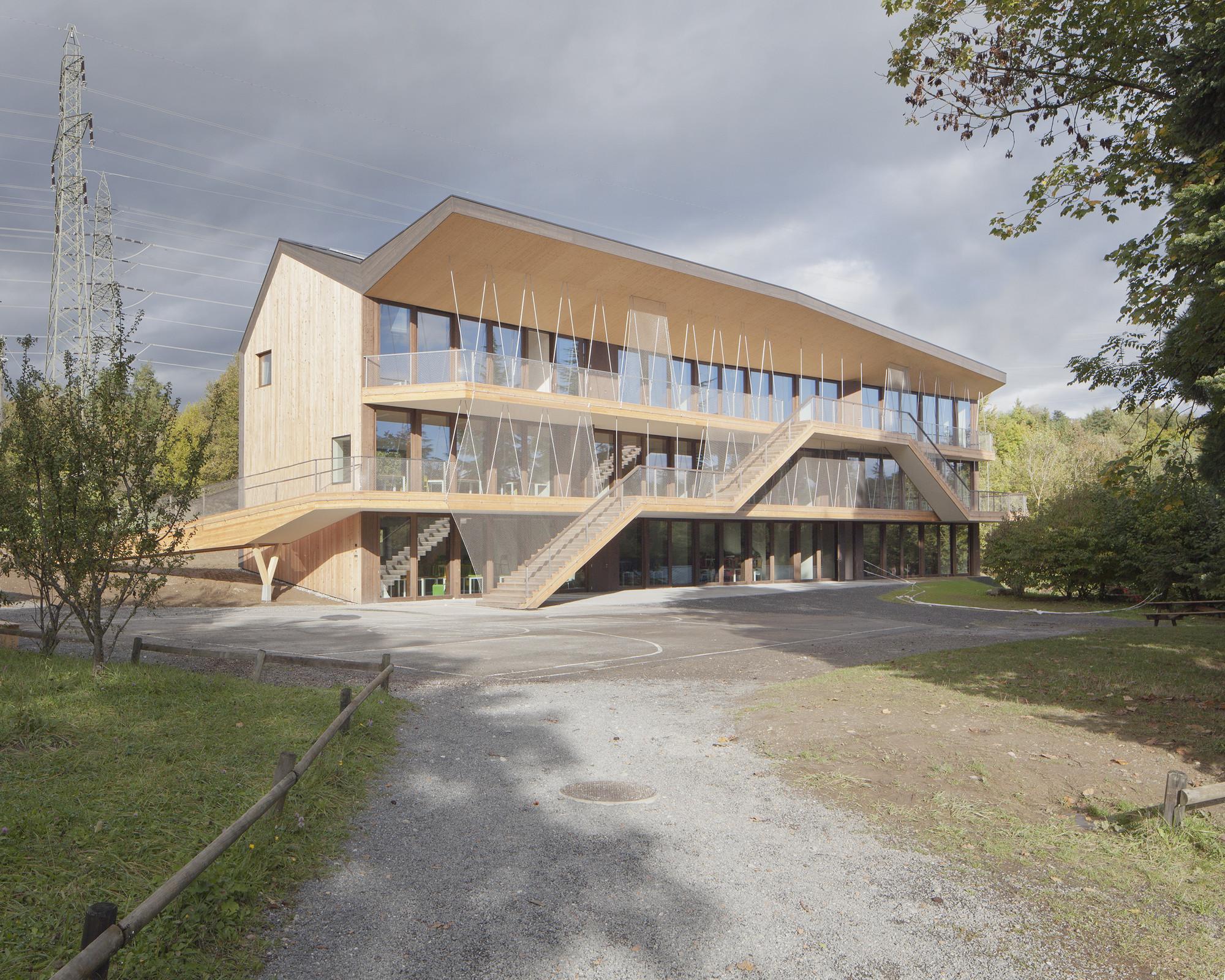 Steiner School / LOCALARCHITECTURE, © Matthieu Gafsou
