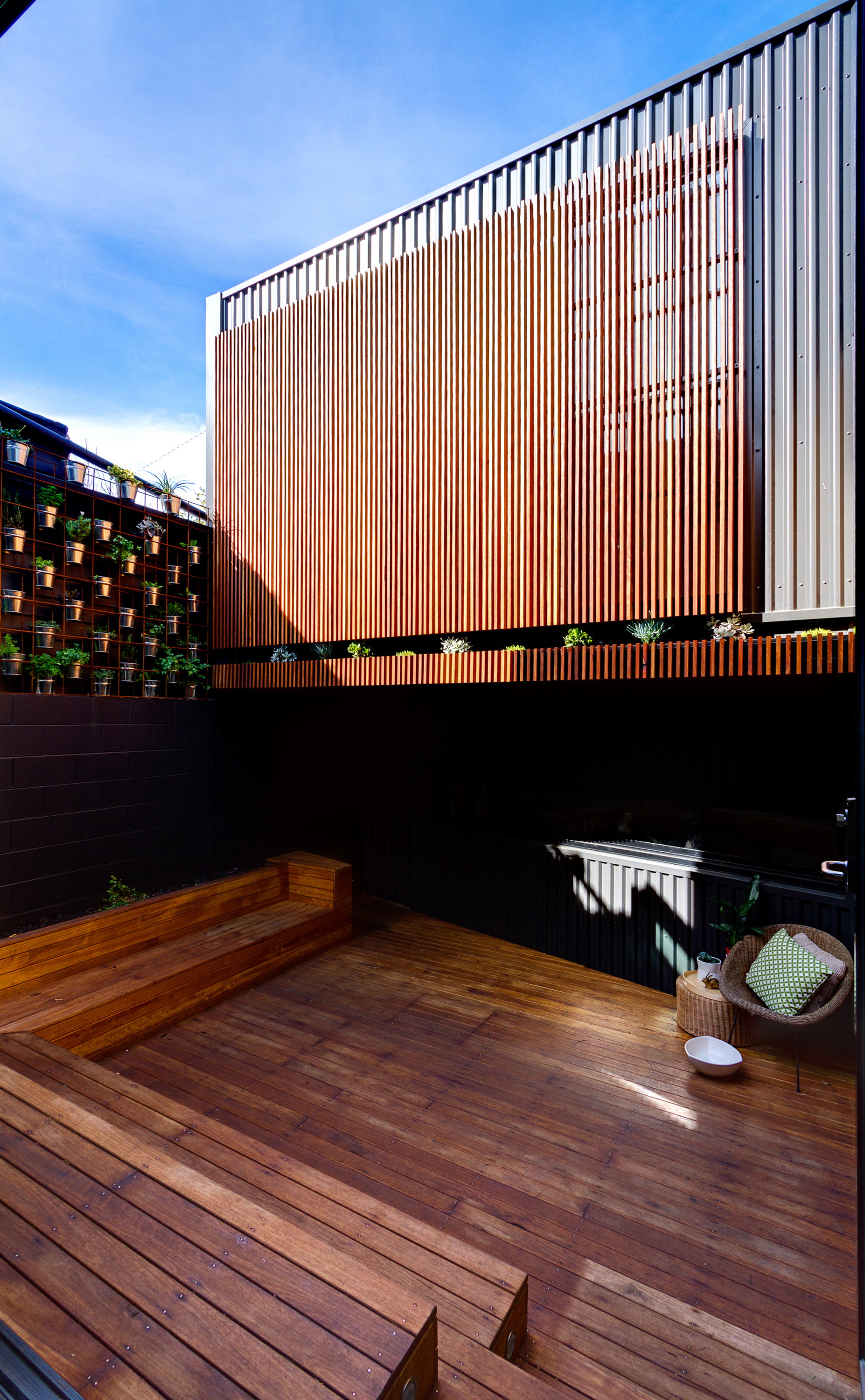 Architectural Deck Screening : Gallery of parure house architects eat