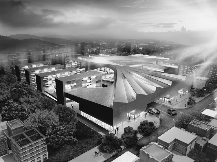 CAAT Studio Propose Large Scale Commercial Centre in Isfahan, Courtesy of CAAT Studio