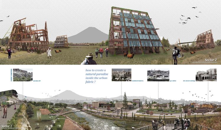 """Proyecto de """"Agro-Turismo Sistémico"""" busca reinventar las instalaciones turísticas en las ciudades latinoamericanas, Cortesía de Carlos Bartesaghi Koc"""