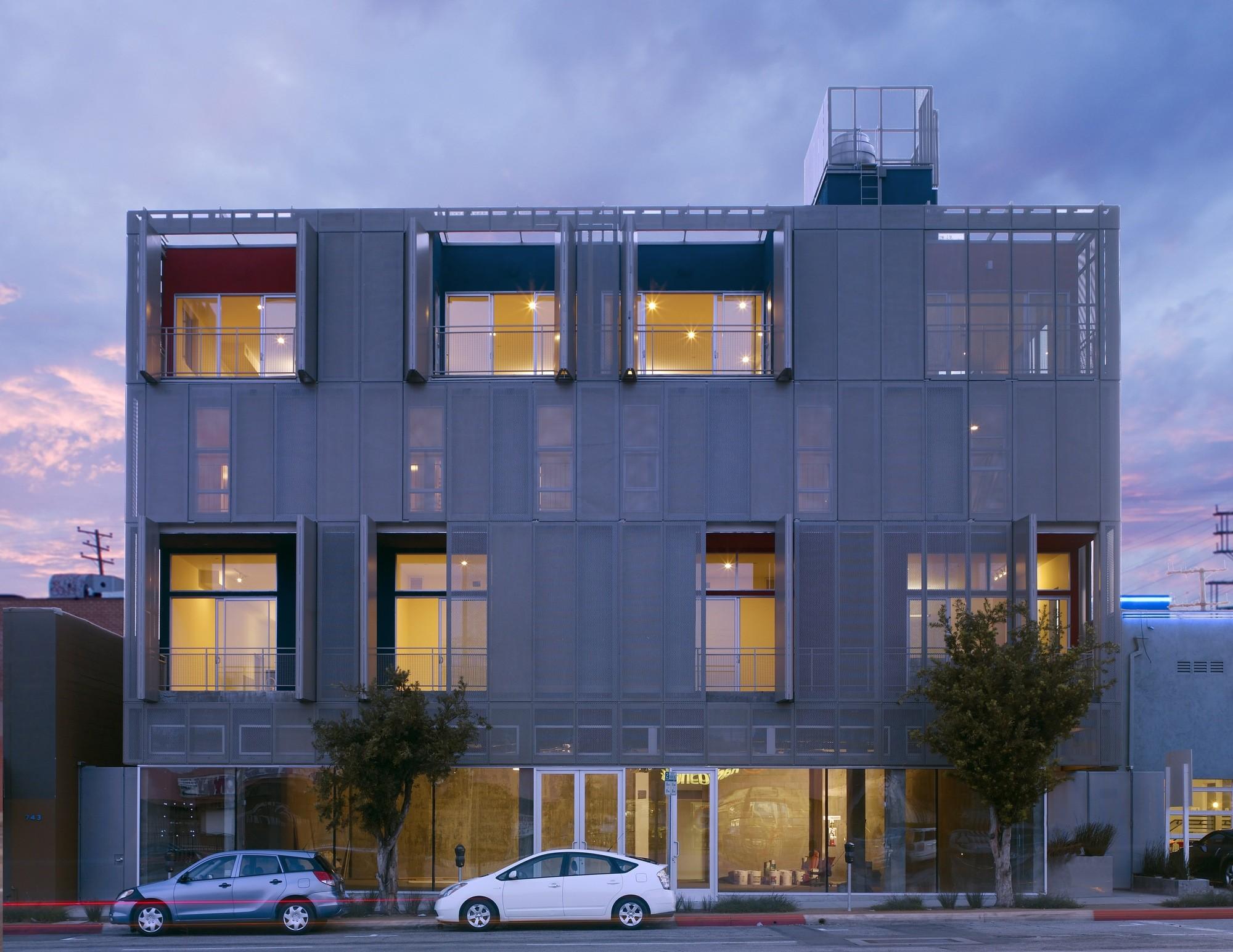 Brooks + Scarpa e Witold Rybczynski recebem Prêmio Cooper-Hewitt , Projeto premiado com o AIA 2014 Habitação: Cherokee Studios / Brooks + Scarpa