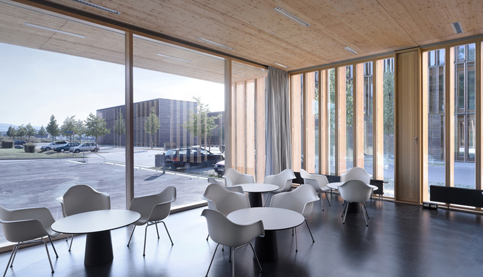 Cafeteria At The University Aalen Mgf Architekten