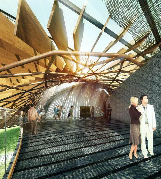 Expo Milão 2015: OBA divulga projeto do Pavilhão da Tailândia, © OBA