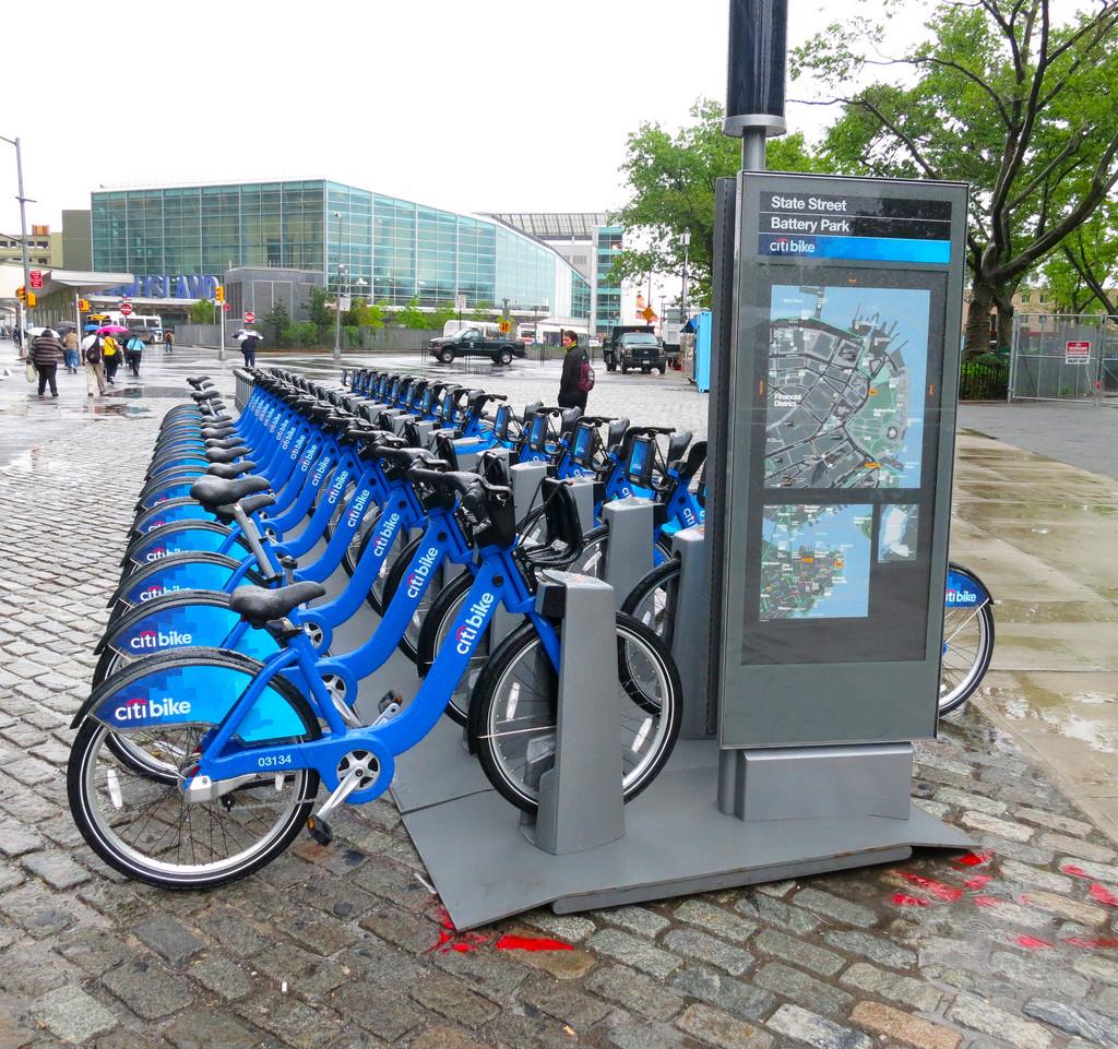 Bicicletas públicas de NY: Primeiras avaliações após um ano de funcionamento, © Rusty Blazenhoff, via Flickr