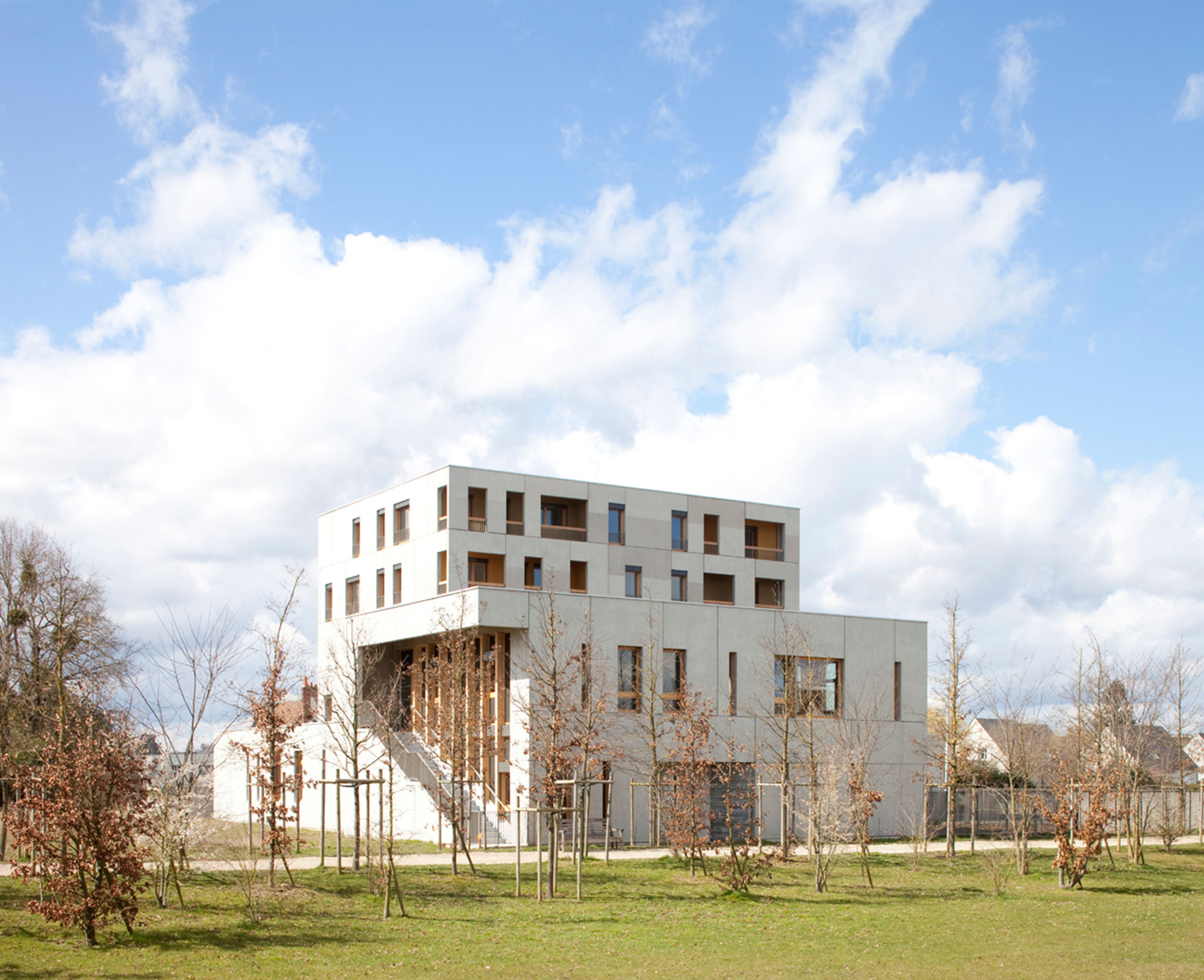 La grenouill re eva samuel architecte associ s archdaily for La architecte