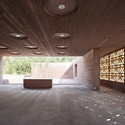 Islamic Cemetery in Altach / Bernardo Bader Architects. Image © Adolf Bereuter