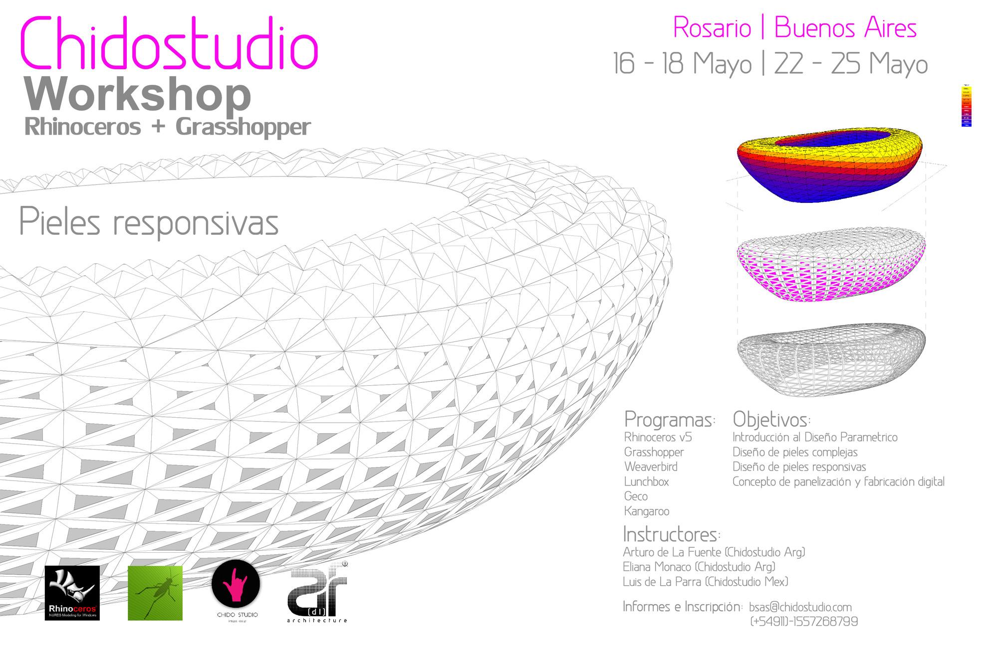 Workshop Chidostudio: Pieles responsivas en Rosario y Buenos Aires / ¡Sorteamos un cupo!, Courtesy of Chido Studio
