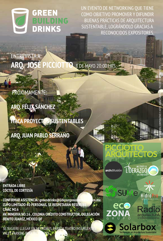Segundo Green Building Drinks