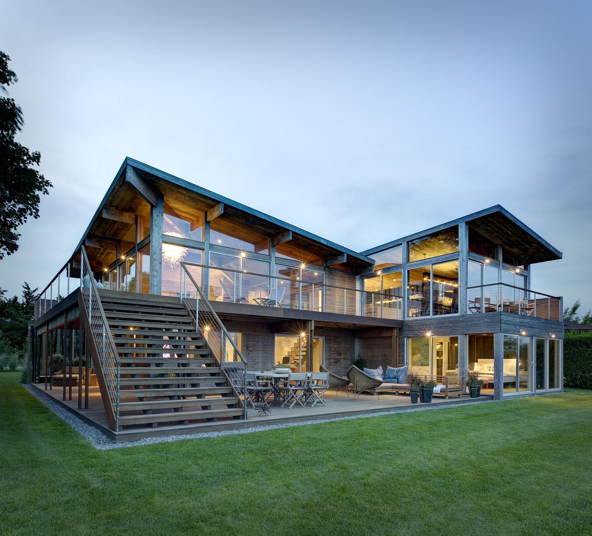 contempor rock river house - HD2000×1810