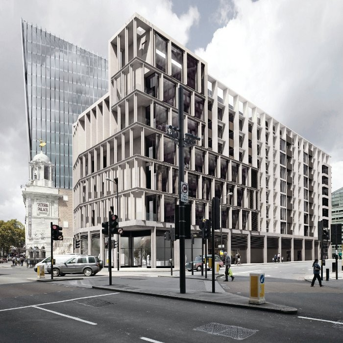The Evolving Symbiosis Between Architects & Developers in the UK, Victoria Library Housing and Office by Patrick Lynch for Land Securities. Image Courtesy of Design Curial