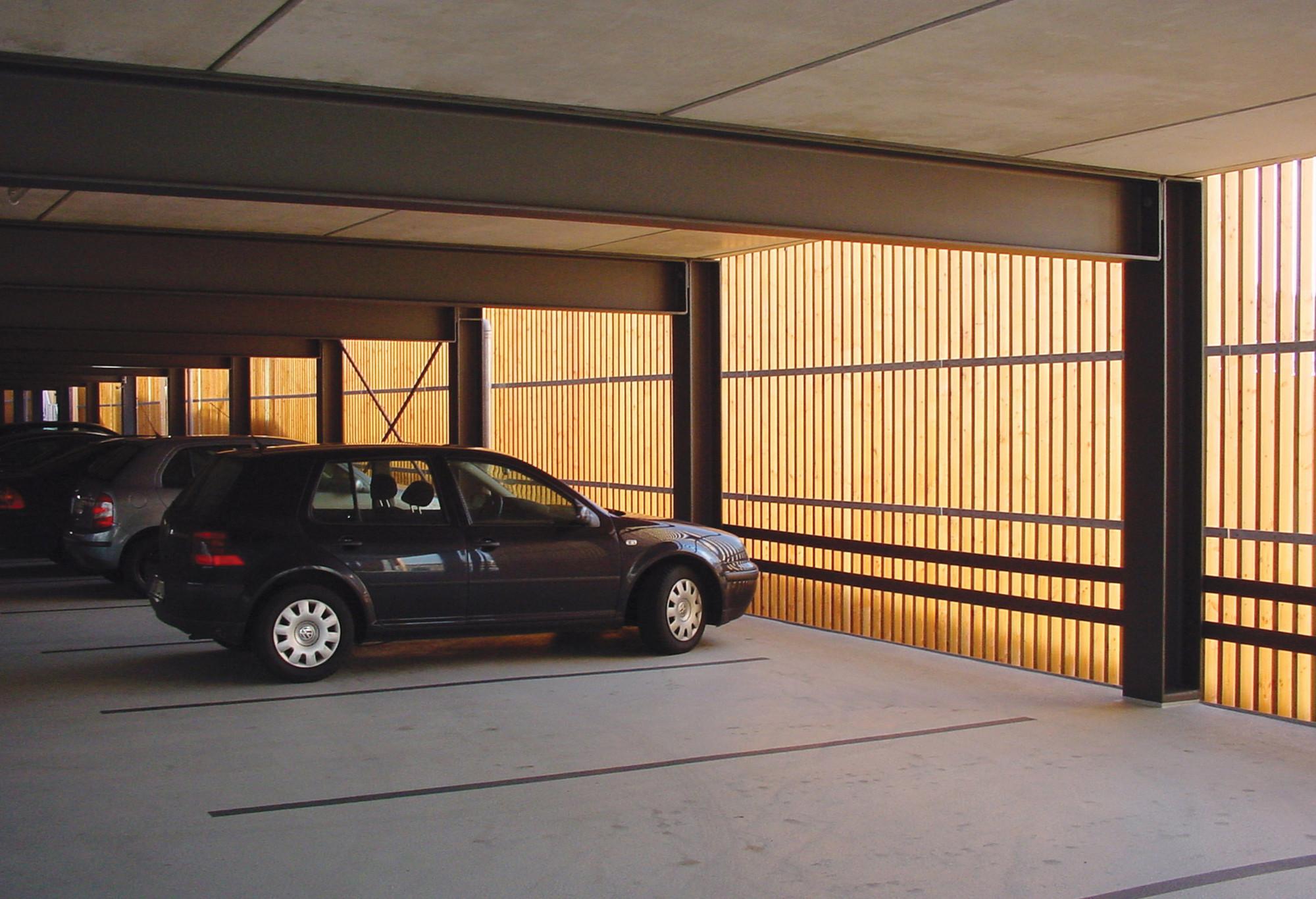 Architekten Coesfeld parking garage birk heilmeyer und frenzel architekten archdaily