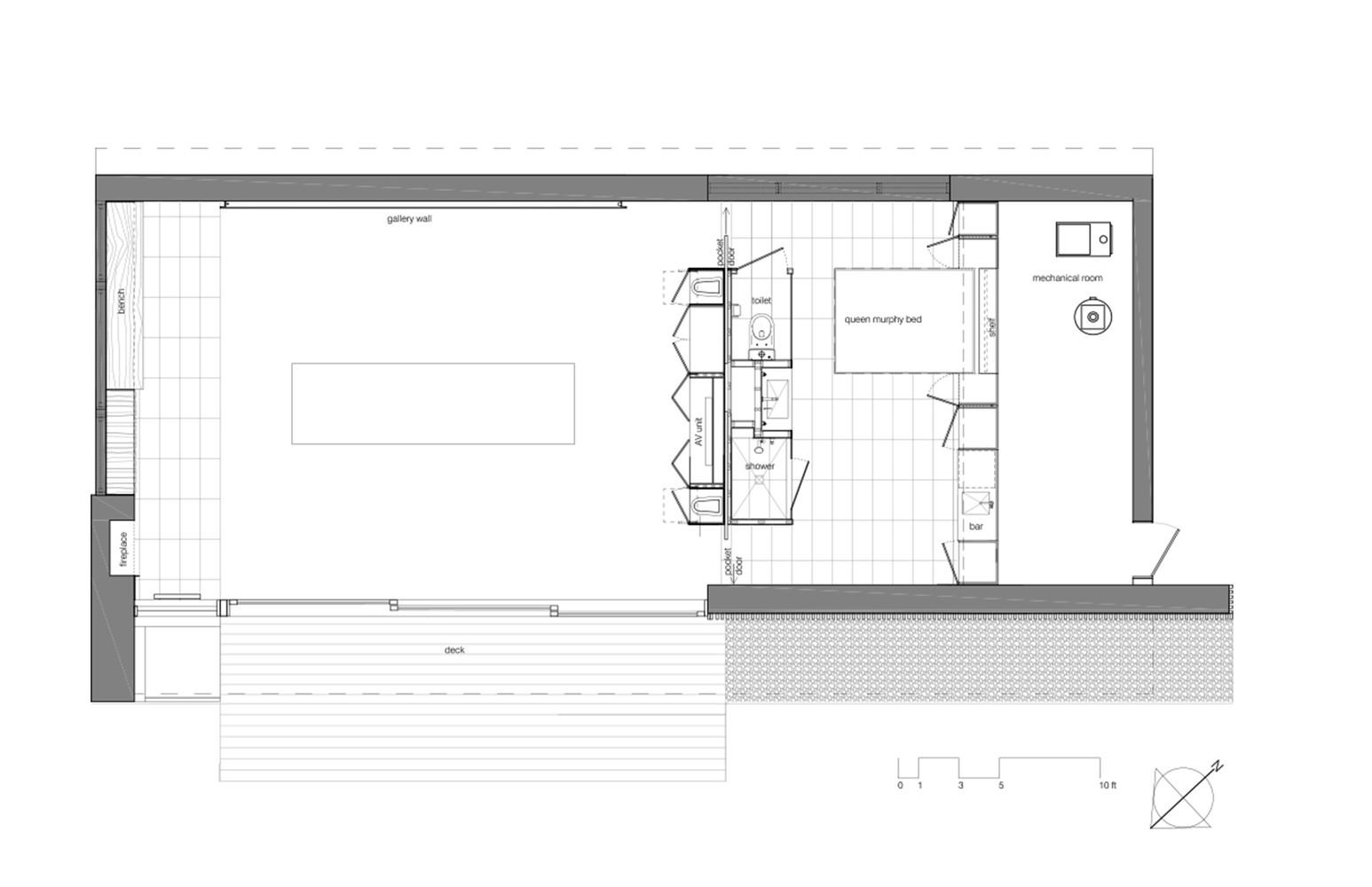 Poolhouse Floor Plan