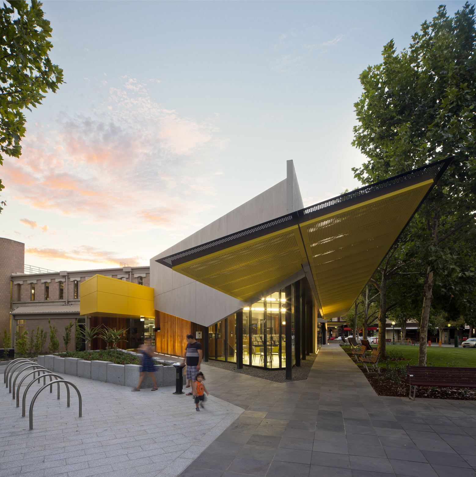 Bendigo Library / MGS Architects, © Andrew Latreille