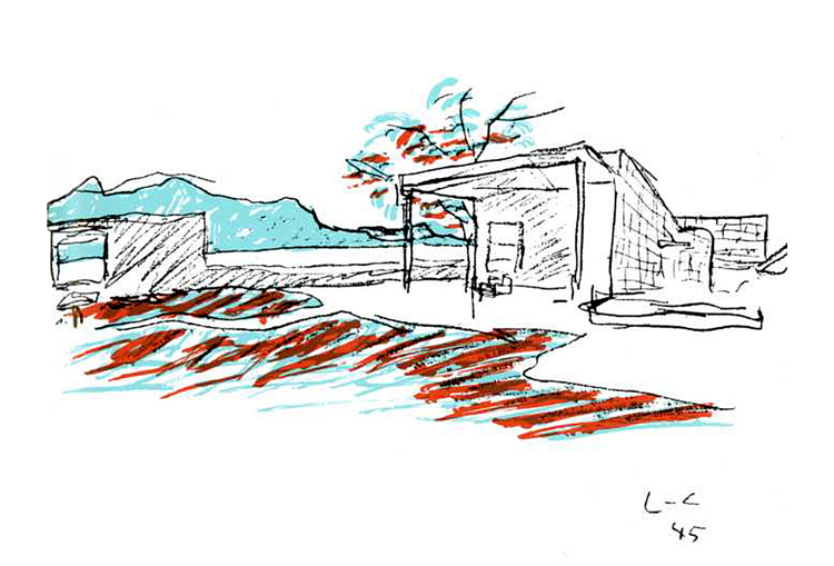 Uma pequena casa / Le Corbusier, © Le Corbusier