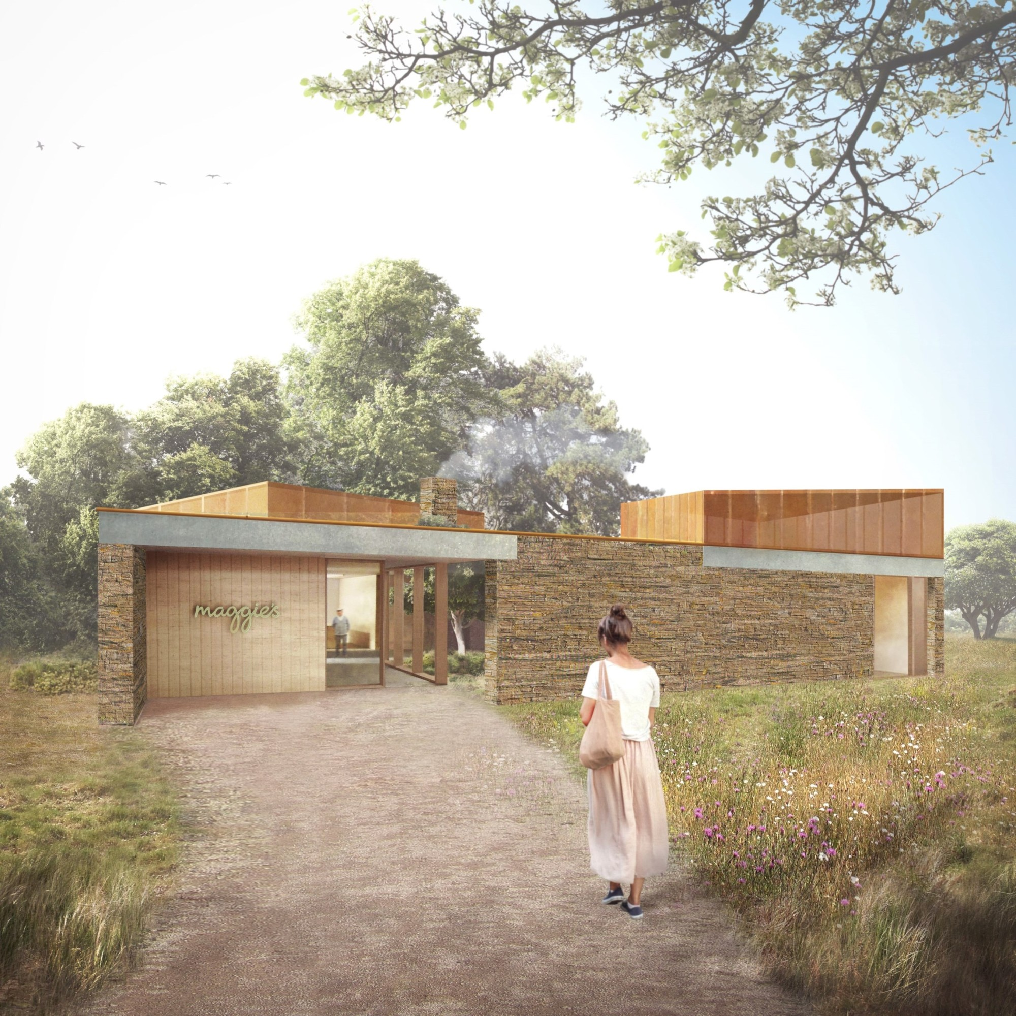 Maggie's Centre Cardiff Receives Planning Permission, Courtesy of Maggie's