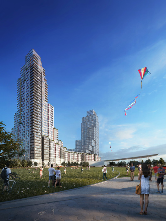 ODA Chosen to Design Largest Affordable Housing Project in New York. Image © ODA