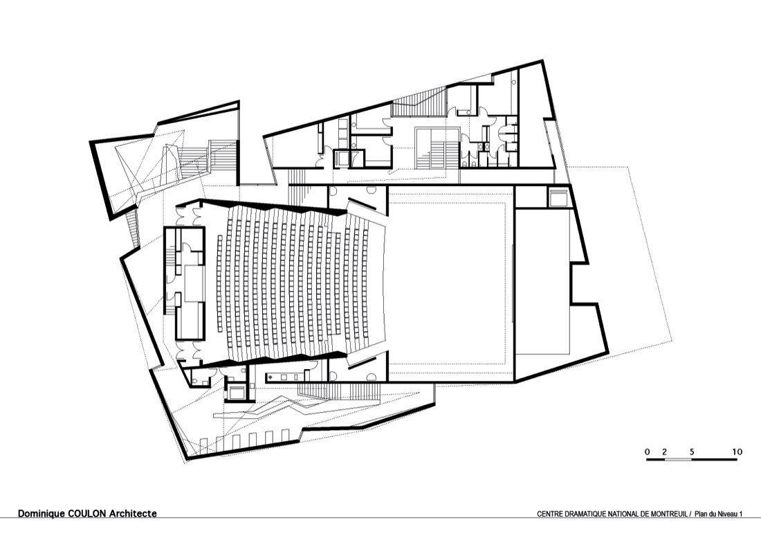 Galeria De Teatro Em Montreuil Dominique Coulon Architecte 23