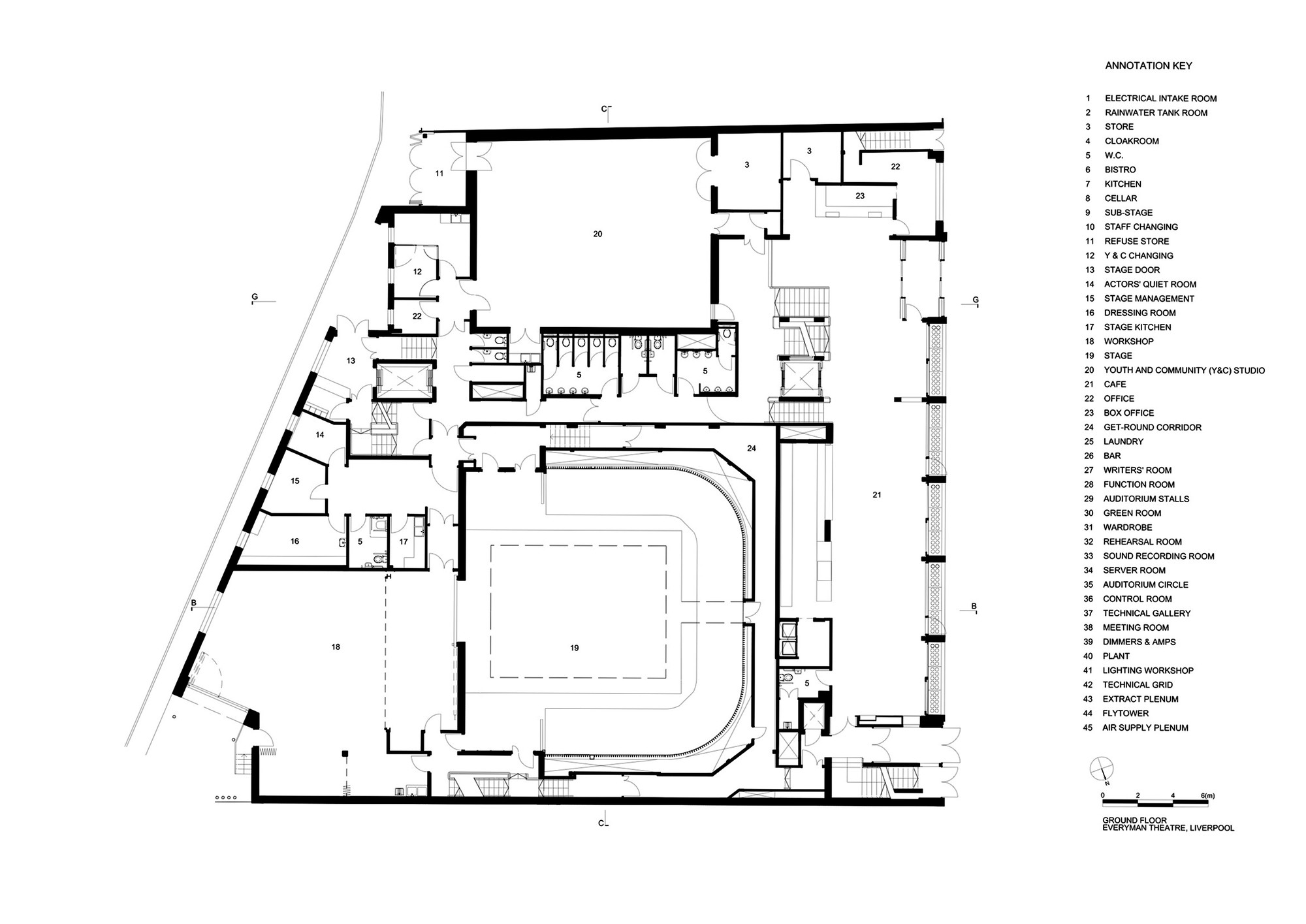 53bc8b76c07a8005ce00042f Kale Cafe Yamo Design Floor Plan likewise 429601251925856902 moreover 54dad4f2e58ececf160000c4 Auditorium Interior Section also 462393086716553024 additionally Np 6200 Stools And Dims. on seating for media room