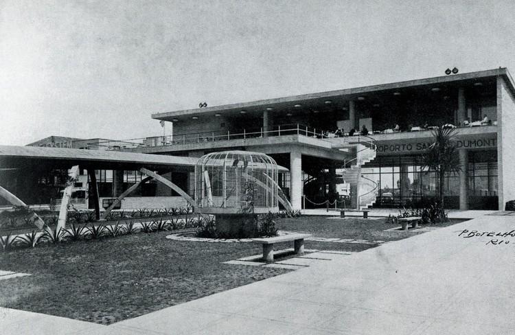 Clássicos da Arquitetura: Estação de Hidroaviões / Attilio Corrêa Lima, Cortesia de Empresa das Artes, 1996
