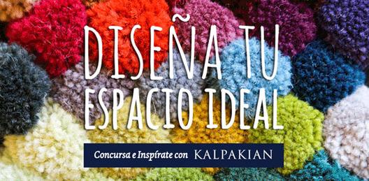 """Concurso """"Diseña tu propio espacio ideal, Inspírate con Kalpakian"""""""