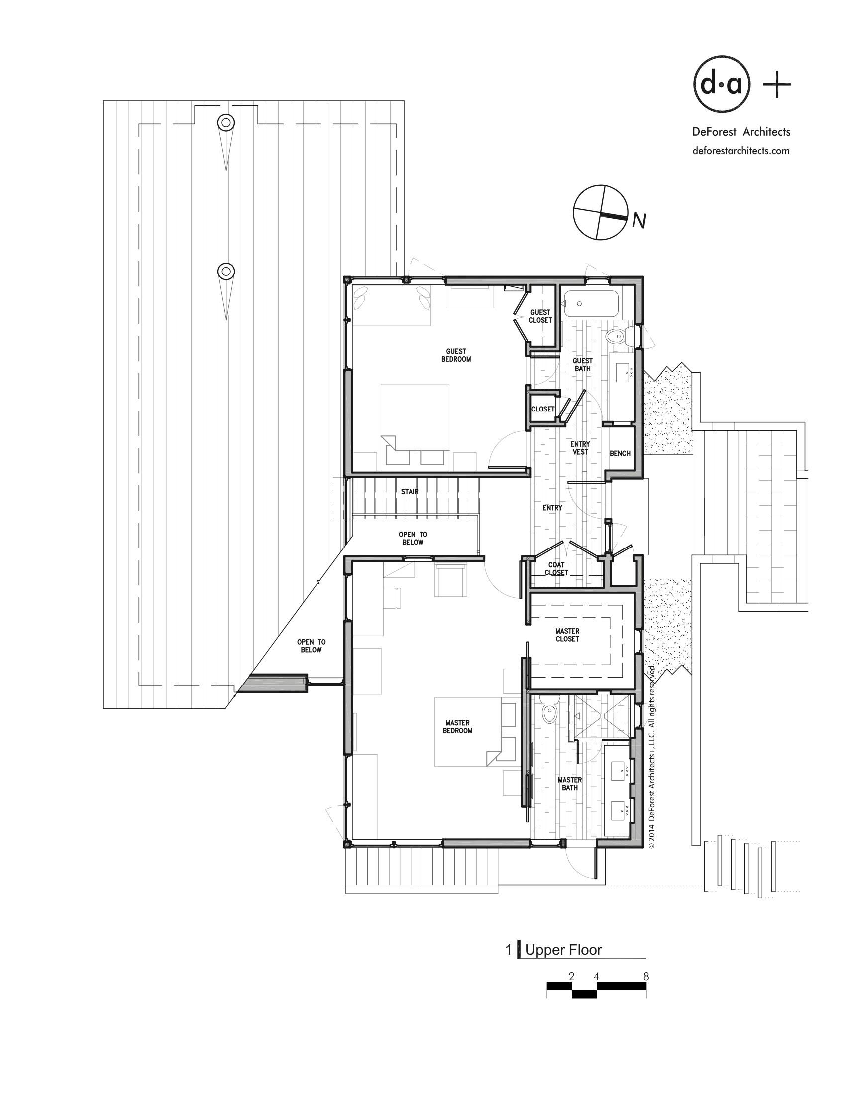 gallery of north lake wenatchee house  deforest architects   - north lake wenatchee house  deforest architects
