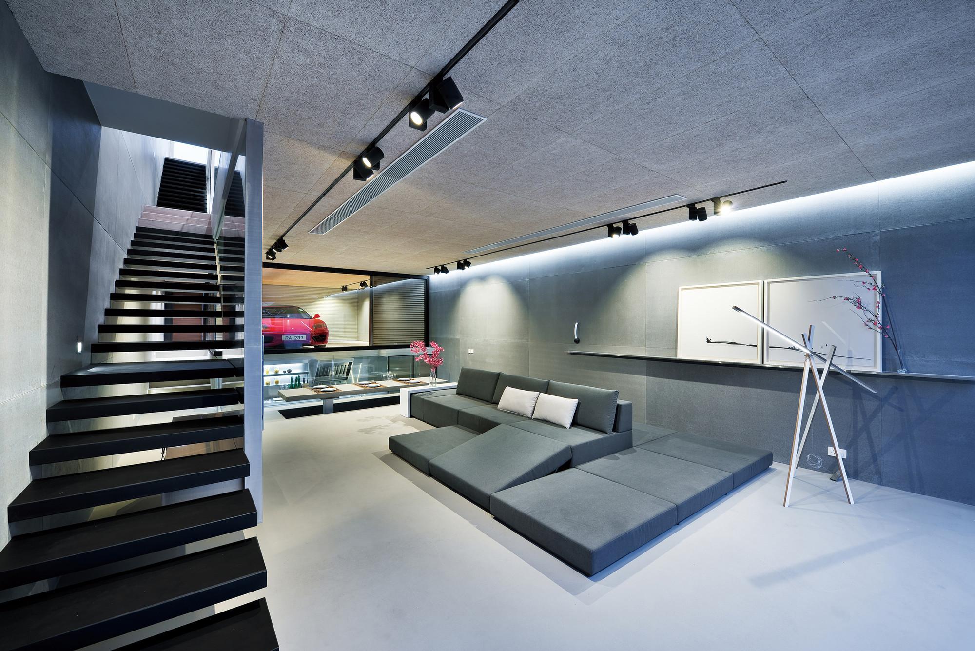 galeria de casa em sai kung millimeter interior design 10. Black Bedroom Furniture Sets. Home Design Ideas