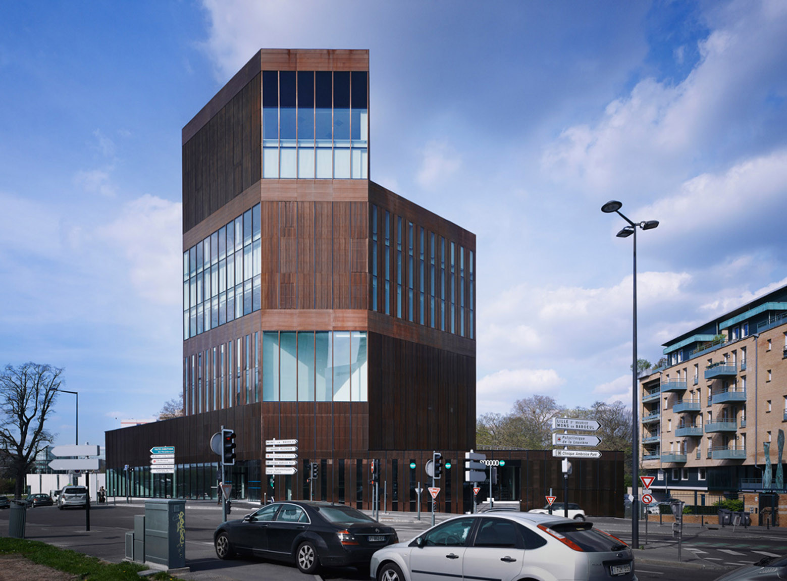 Lille offices lan architecture archdaily