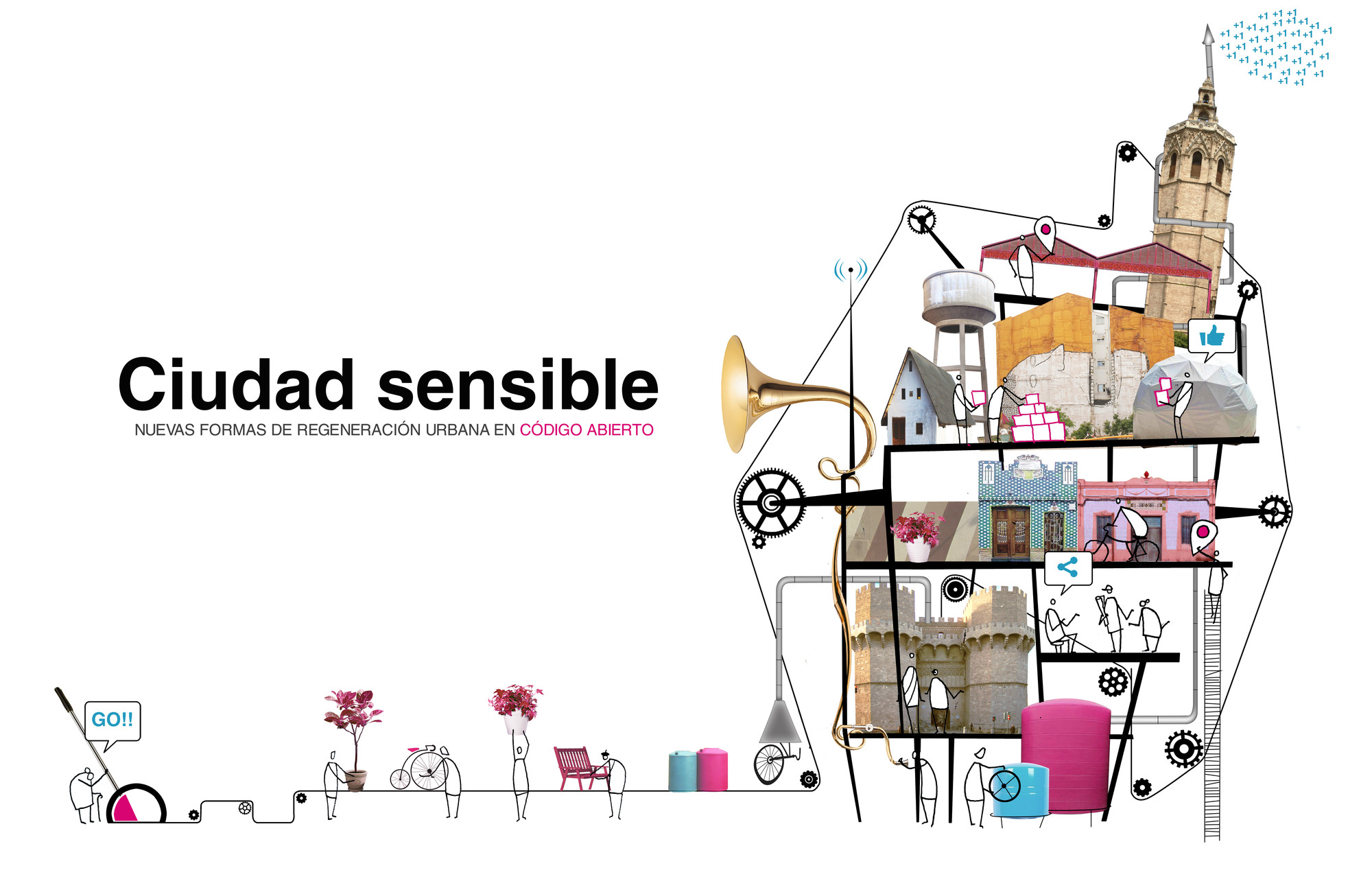 #CiudadSensible 2014 / Valencia, España, Courtesy of Carpe Via