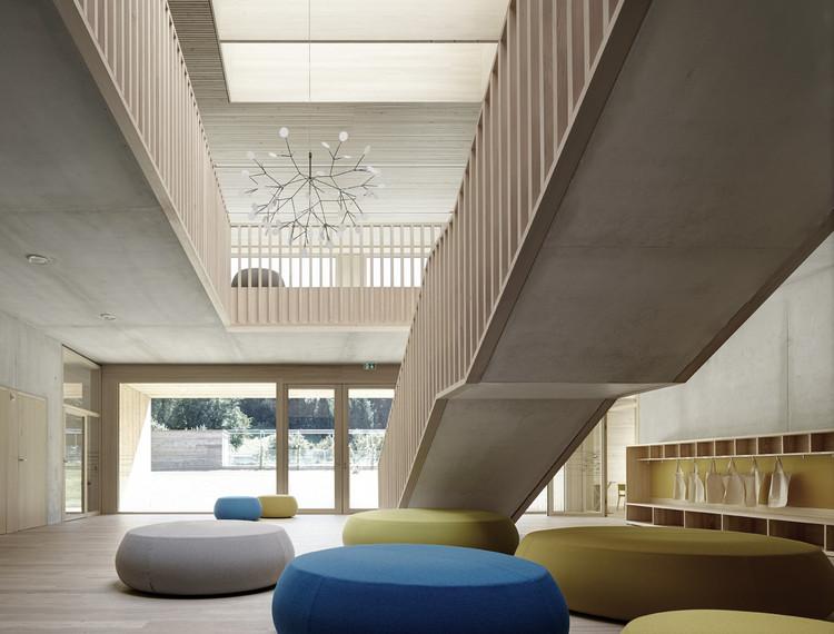 Kindergarten Susi Weigel / Bernardo Bader Architekten, © Adolf Bereuter