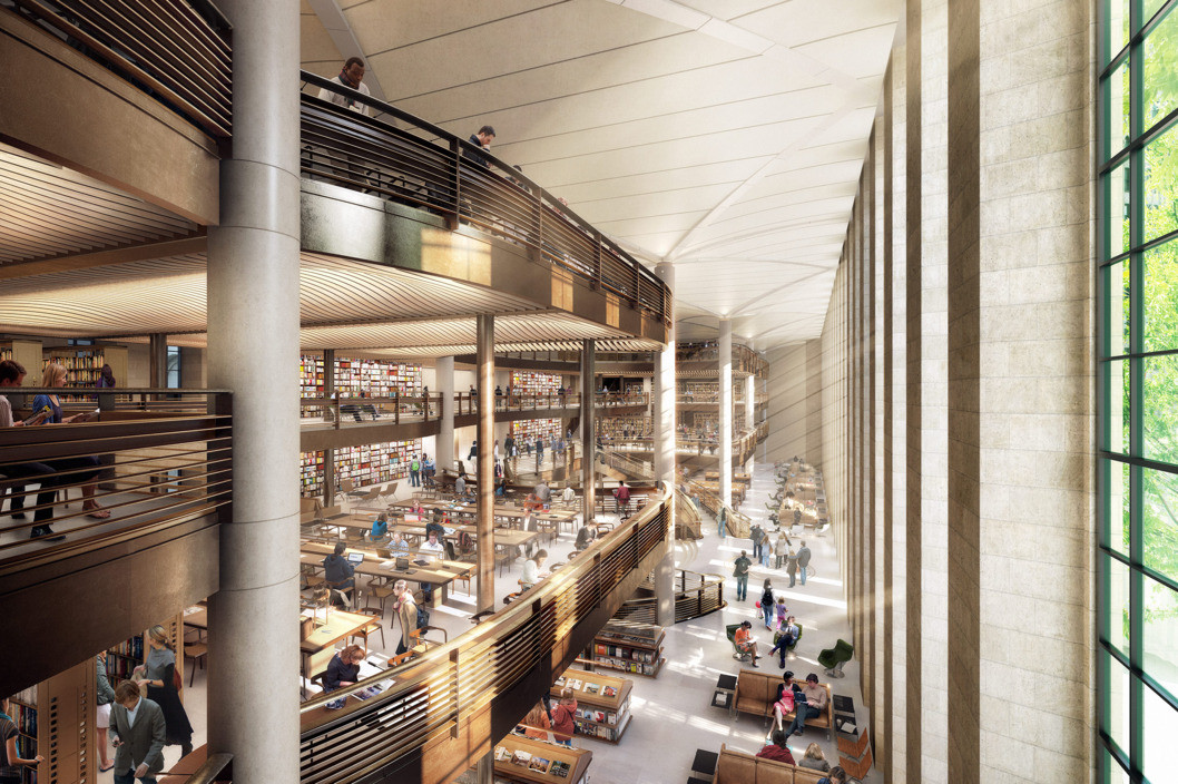 Lost Opportunity? Norman Foster's New York Public Library Renovation, Not gonna happen. Image Courtesy of dbox/Foster + Partners