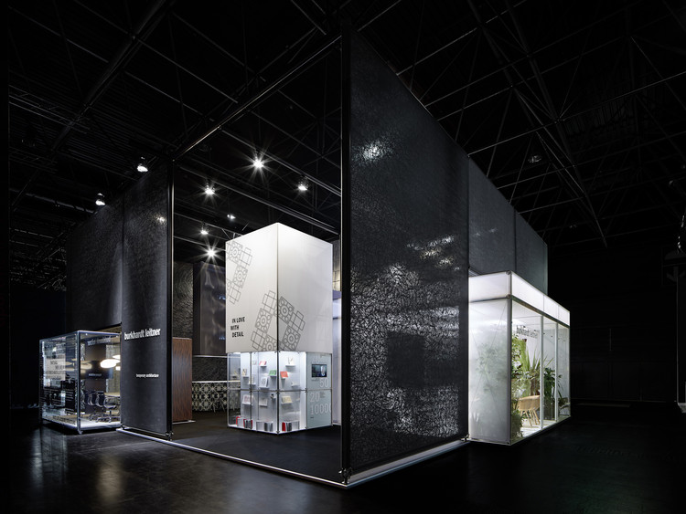 Burkhardt Leitner constructiv exhibition  / Ippolito Fleitz Group, © Zooey Braun