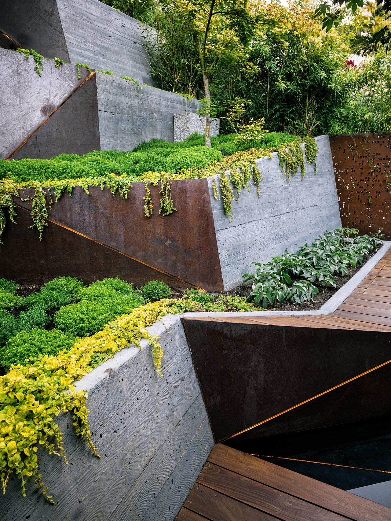 Galer a de arquitectura y paisaje hilgard garden una for Arquitectura del paisaje