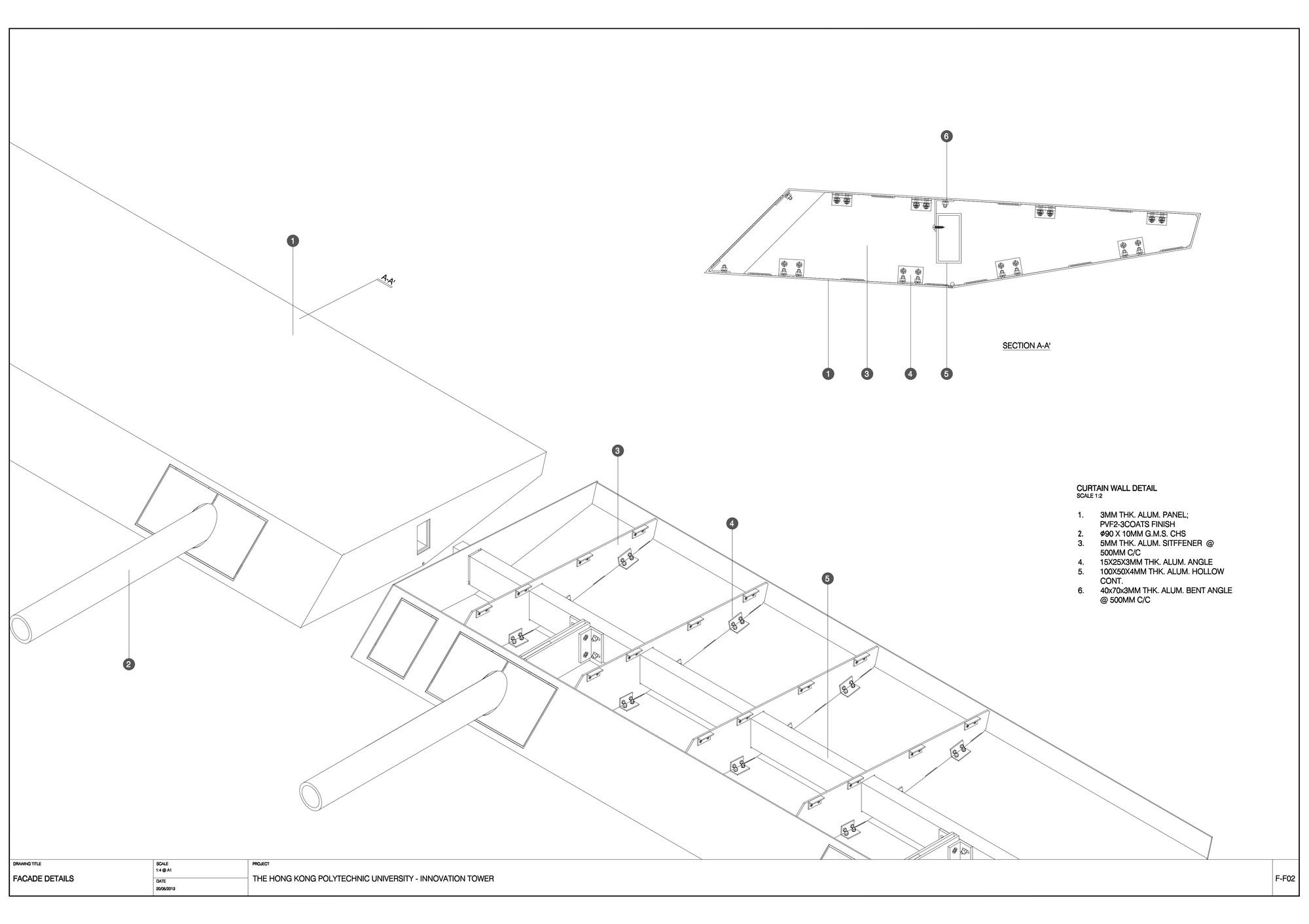 Gallery of Jockey Club Innovation Tower / Zaha Hadid Architects - 61