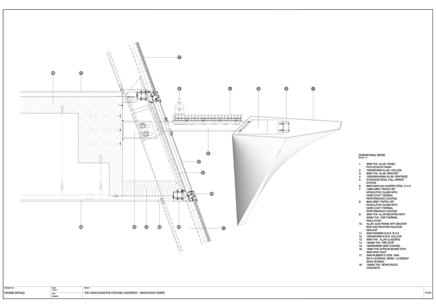 Gallery of Jockey Club Innovation Tower / Zaha Hadid