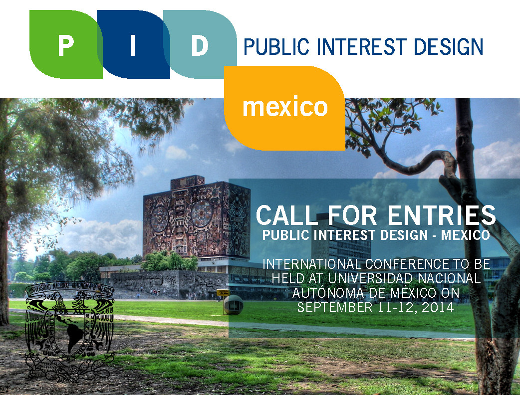 Call for Projects: Public Interest Design México