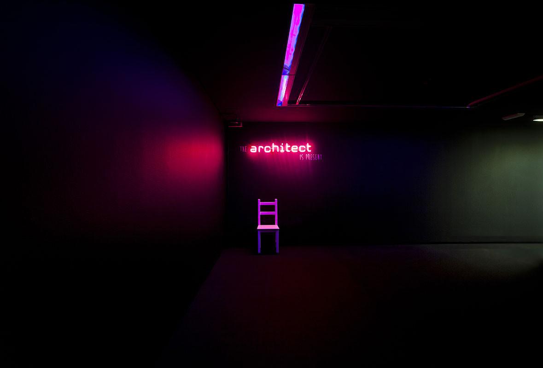"""Exposición """"The Architect is present"""", © Julio César González"""
