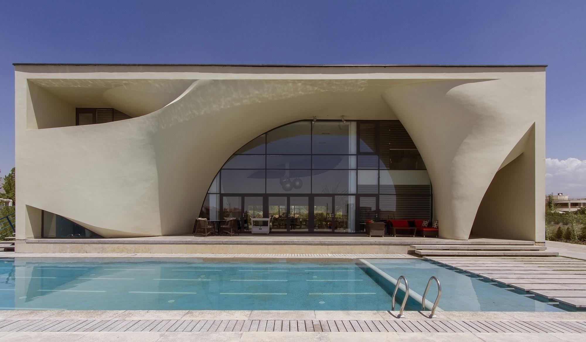 Kouhsar Villa / Next Office–Alireza Taghaboni, © Parham Taghioff