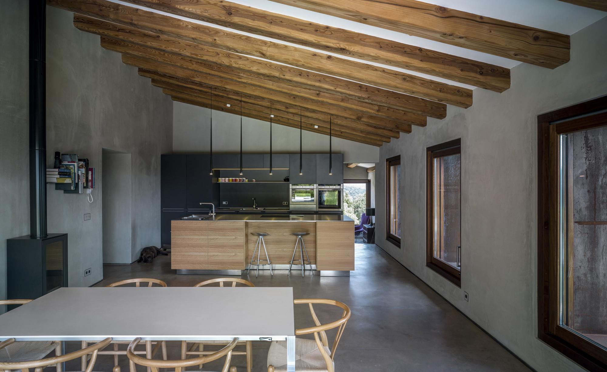 Gallery of villa cp zest architecture 10 for Interieur longere