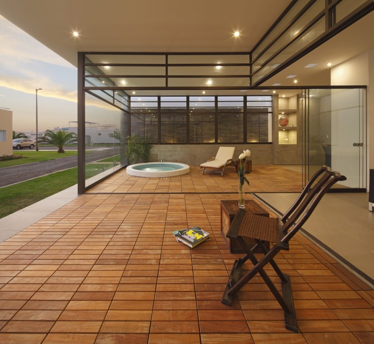 Casa Zen / Estudio Gómez de la Torre & Guerrero Arquitectos, © Juan Solano Ojasi