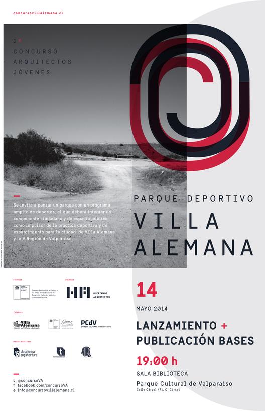 Concurso Nacional de Anteproyectos Parque Deportivo Villa Alemana / Chile, Courtesy of Huérfanos Arquitectos