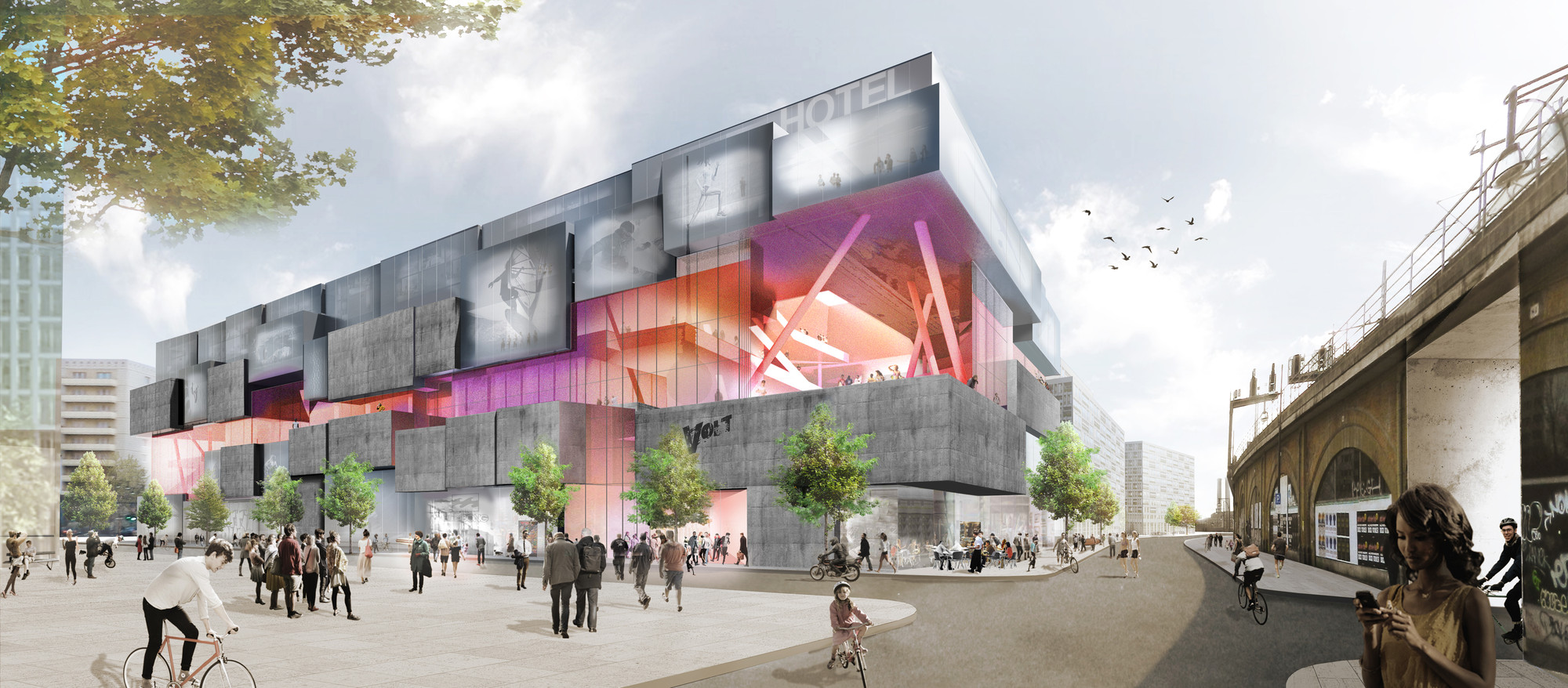 "J. Mayer H. Wins Competition to Design Berlin ""Experience Center"", © J. Mayer H."